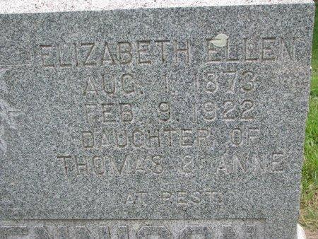 DENNISON, ELIZABETH ELLEN (CLOSEUP) - Union County, South Dakota   ELIZABETH ELLEN (CLOSEUP) DENNISON - South Dakota Gravestone Photos