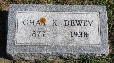 DEWEY, CHARLES K. - Union County, South Dakota   CHARLES K. DEWEY - South Dakota Gravestone Photos