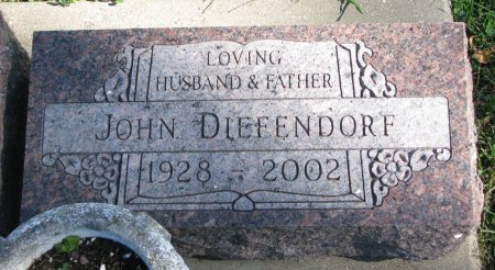DIEFENDORF, JOHN - Union County, South Dakota | JOHN DIEFENDORF - South Dakota Gravestone Photos