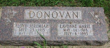 DONOVAN, FLOYD JEREMIAH - Union County, South Dakota | FLOYD JEREMIAH DONOVAN - South Dakota Gravestone Photos