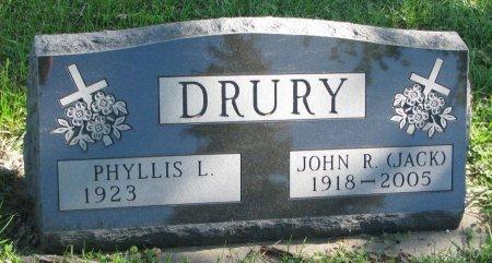 DRURY, PHYLLIS L. - Union County, South Dakota | PHYLLIS L. DRURY - South Dakota Gravestone Photos