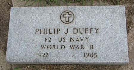 DUFFY, PHILIP J. (WORLD WAR II) - Union County, South Dakota | PHILIP J. (WORLD WAR II) DUFFY - South Dakota Gravestone Photos