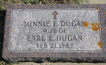 DUGAN, MINNIE L. - Union County, South Dakota | MINNIE L. DUGAN - South Dakota Gravestone Photos