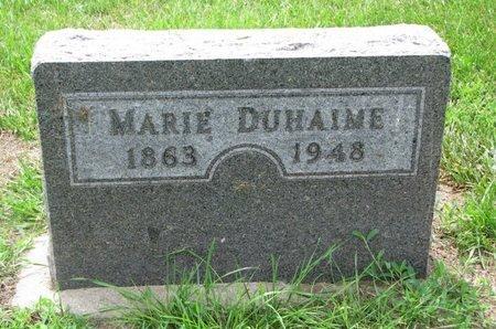 DUHAIME, MARIE - Union County, South Dakota | MARIE DUHAIME - South Dakota Gravestone Photos