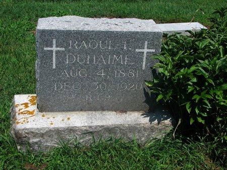 DUHAIME, RAOUL L. - Union County, South Dakota | RAOUL L. DUHAIME - South Dakota Gravestone Photos