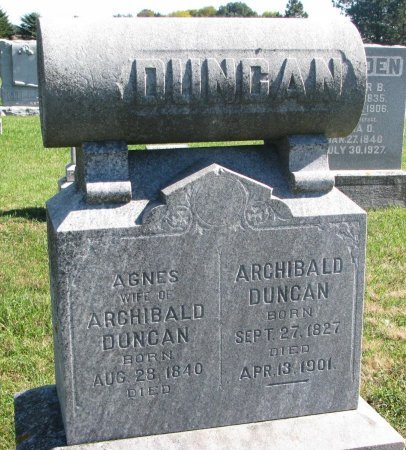 DUNCAN, ARCHIBALD - Union County, South Dakota | ARCHIBALD DUNCAN - South Dakota Gravestone Photos