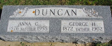 DUNCAN, ANNA CHRISTINE - Union County, South Dakota | ANNA CHRISTINE DUNCAN - South Dakota Gravestone Photos