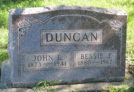 DUNCAN, JOHN E. - Union County, South Dakota | JOHN E. DUNCAN - South Dakota Gravestone Photos