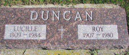 DUNCAN, LUCILLE - Union County, South Dakota | LUCILLE DUNCAN - South Dakota Gravestone Photos
