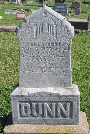 DUNN, ELLA - Union County, South Dakota | ELLA DUNN - South Dakota Gravestone Photos