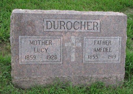 DUROCHER, AMEDEE - Union County, South Dakota   AMEDEE DUROCHER - South Dakota Gravestone Photos