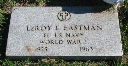 EASTMAN, LEROY L. (WORLD WAR II) - Union County, South Dakota | LEROY L. (WORLD WAR II) EASTMAN - South Dakota Gravestone Photos