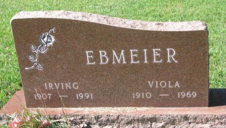 EBMEIER, IRVING C.  - Union County, South Dakota | IRVING C.  EBMEIER - South Dakota Gravestone Photos