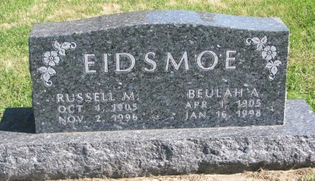 EIDSMOE, RUSSELL M. - Union County, South Dakota | RUSSELL M. EIDSMOE - South Dakota Gravestone Photos