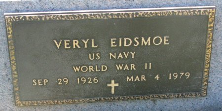 EIDSMOE, VERYL (WORLD WAR II) - Union County, South Dakota | VERYL (WORLD WAR II) EIDSMOE - South Dakota Gravestone Photos