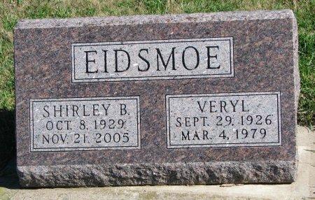 BAKER EIDSMOE, SHIRLEY MAE - Union County, South Dakota   SHIRLEY MAE BAKER EIDSMOE - South Dakota Gravestone Photos