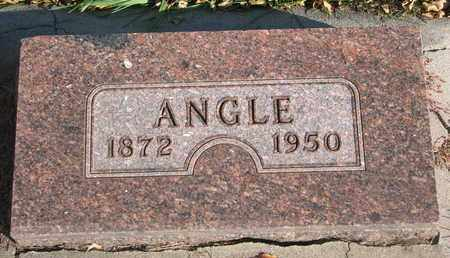 ELEESON, ANGLE - Union County, South Dakota | ANGLE ELEESON - South Dakota Gravestone Photos