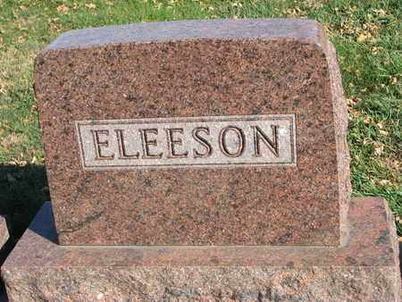 ELEESON, FAMILY STONE - Union County, South Dakota | FAMILY STONE ELEESON - South Dakota Gravestone Photos