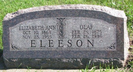 ELEESON, OLAF - Union County, South Dakota | OLAF ELEESON - South Dakota Gravestone Photos
