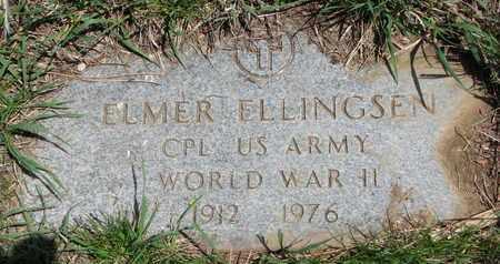 ELLINGSEN, ELMER (WORLD WAR II) - Union County, South Dakota | ELMER (WORLD WAR II) ELLINGSEN - South Dakota Gravestone Photos