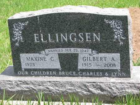ELLINGSEN, GILBERT A. - Union County, South Dakota | GILBERT A. ELLINGSEN - South Dakota Gravestone Photos