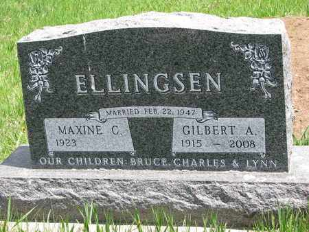 ELLINGSEN, MAXINE C. - Union County, South Dakota | MAXINE C. ELLINGSEN - South Dakota Gravestone Photos