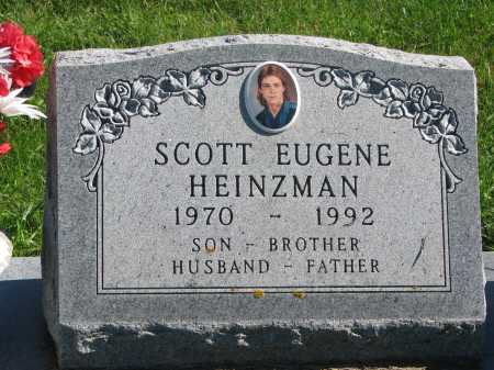 HEINZMAN, SCOTT EUGENE - Union County, South Dakota   SCOTT EUGENE HEINZMAN - South Dakota Gravestone Photos