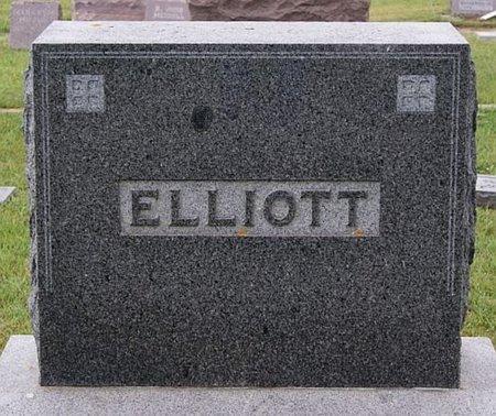 ELLIOTT, FAMILY MARKER-DR. A. V. AND GERTRUDE E. ELLIOTT - Union County, South Dakota | FAMILY MARKER-DR. A. V. AND GERTRUDE E. ELLIOTT ELLIOTT - South Dakota Gravestone Photos