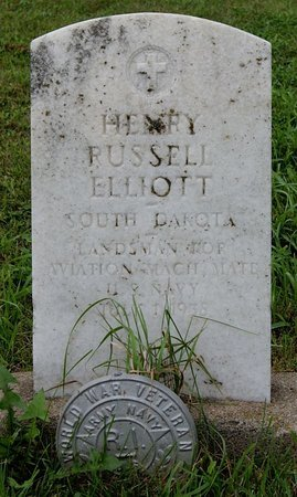 ELLIOTT, HENRY RUSSELL - Union County, South Dakota | HENRY RUSSELL ELLIOTT - South Dakota Gravestone Photos