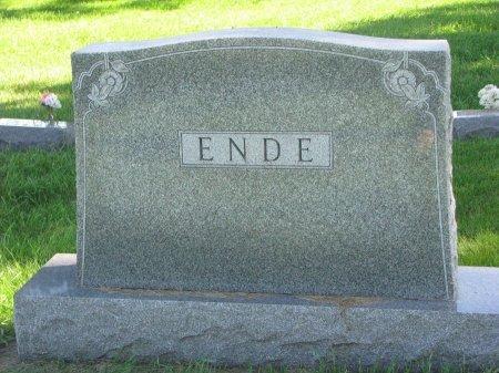 ENDE, *FAMILY MONUMENT - Union County, South Dakota | *FAMILY MONUMENT ENDE - South Dakota Gravestone Photos