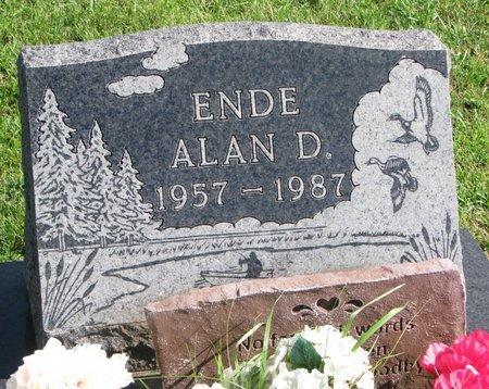 ENDE, ALAN D. - Union County, South Dakota | ALAN D. ENDE - South Dakota Gravestone Photos