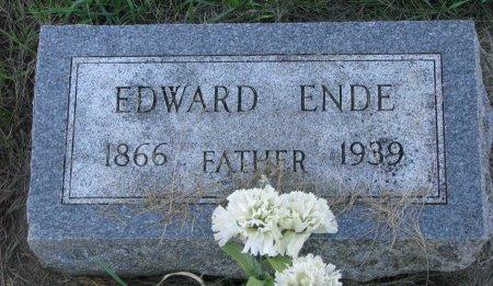 ENDE, EDWARD - Union County, South Dakota | EDWARD ENDE - South Dakota Gravestone Photos