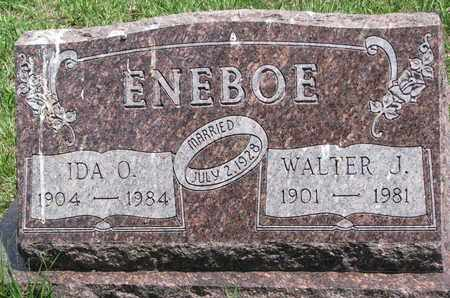 ENEBOE, IDA O. - Union County, South Dakota   IDA O. ENEBOE - South Dakota Gravestone Photos