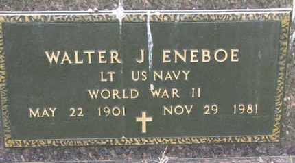 ENEBOE, WALTER J. (WORLD WAR II) - Union County, South Dakota   WALTER J. (WORLD WAR II) ENEBOE - South Dakota Gravestone Photos