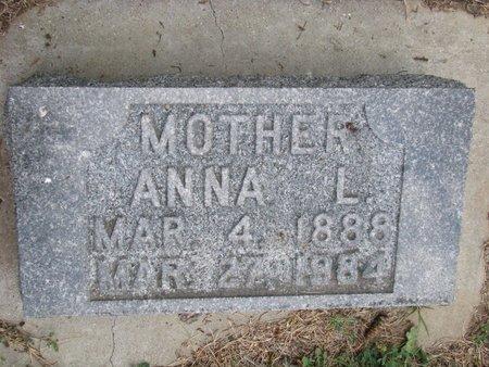 ERICSON, ANNA L. - Union County, South Dakota | ANNA L. ERICSON - South Dakota Gravestone Photos