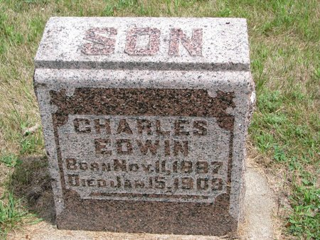 ERICSON, CHARLES EDWIN - Union County, South Dakota | CHARLES EDWIN ERICSON - South Dakota Gravestone Photos