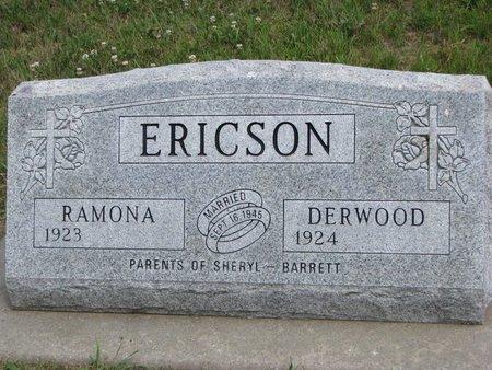 ERICSON, DERWOOD E. - Union County, South Dakota | DERWOOD E. ERICSON - South Dakota Gravestone Photos