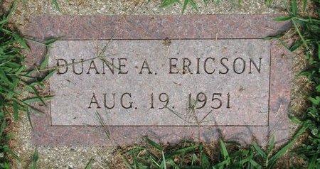 ERICSON, DUANE A. - Union County, South Dakota | DUANE A. ERICSON - South Dakota Gravestone Photos