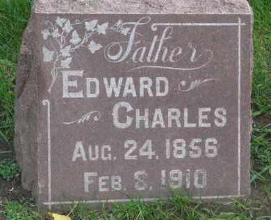 ERICSON, EDWARD CHARLES - Union County, South Dakota   EDWARD CHARLES ERICSON - South Dakota Gravestone Photos