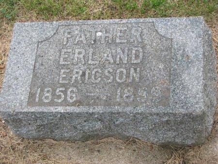 ERICSON, ERLAND - Union County, South Dakota | ERLAND ERICSON - South Dakota Gravestone Photos
