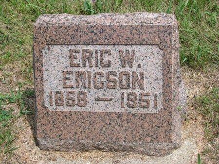 ERICSON, ERIC W. - Union County, South Dakota | ERIC W. ERICSON - South Dakota Gravestone Photos