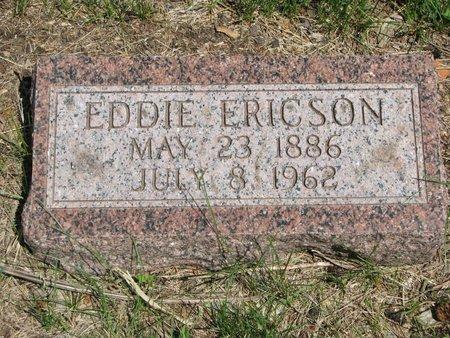 ERICSON, EDDIE - Union County, South Dakota   EDDIE ERICSON - South Dakota Gravestone Photos