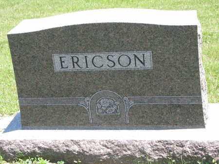 ERICSON, *FAMILY STONE - Union County, South Dakota   *FAMILY STONE ERICSON - South Dakota Gravestone Photos