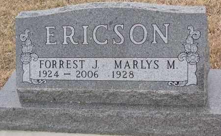 ERICSON, FORREST J. - Union County, South Dakota | FORREST J. ERICSON - South Dakota Gravestone Photos