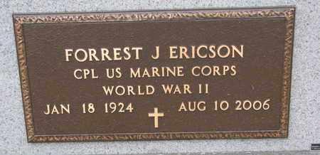 ERICSON, FORREST J. (WORLD WAR II) - Union County, South Dakota   FORREST J. (WORLD WAR II) ERICSON - South Dakota Gravestone Photos