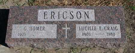 ERICSON, LUCILLE E. - Union County, South Dakota | LUCILLE E. ERICSON - South Dakota Gravestone Photos