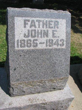 ERICSON, JOHN E. - Union County, South Dakota   JOHN E. ERICSON - South Dakota Gravestone Photos