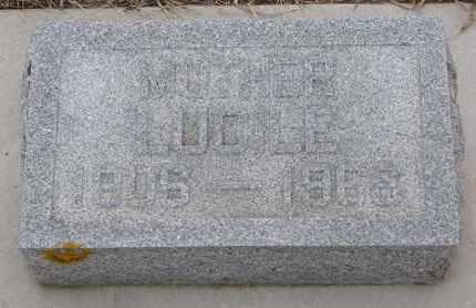 ERICSON, LUCILE - Union County, South Dakota | LUCILE ERICSON - South Dakota Gravestone Photos