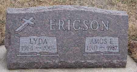 ERICSON, AMOS E. - Union County, South Dakota | AMOS E. ERICSON - South Dakota Gravestone Photos