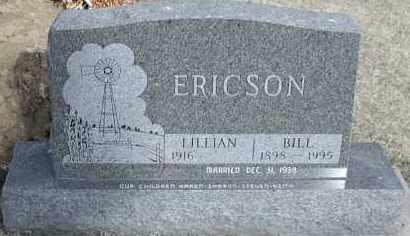 "ERICSON, WILLIAM ""BILL"" - Union County, South Dakota | WILLIAM ""BILL"" ERICSON - South Dakota Gravestone Photos"